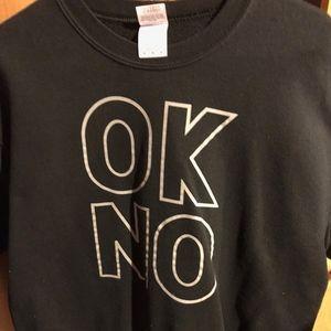 """""""ok no"""" Sweatshirt"""